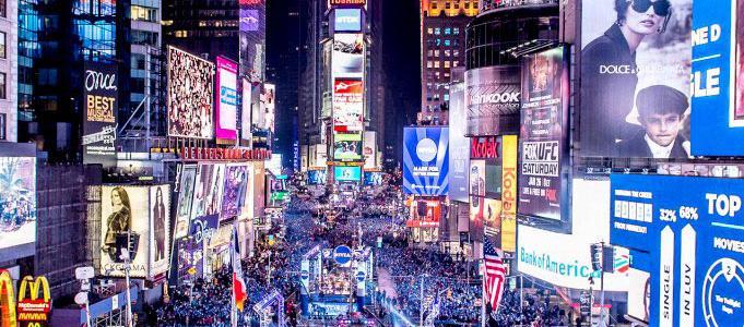 Happy New Year, New York City!