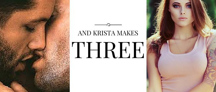 And Krista Makes Three