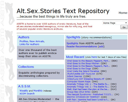 Alt Sex Story Repository 13